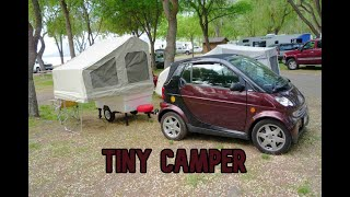 This Tiny Camper Can Be Towed By Any Vehicle | Kompact Kamp Mini Mate Camper for Small Cars