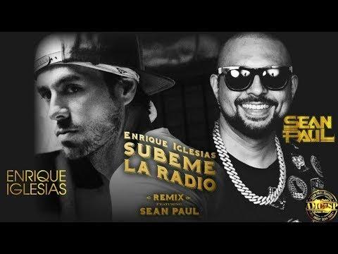 Enrique Iglesias - SUBEME LA RADIO REMIX Lyric  ft Sean Paul - VEVO