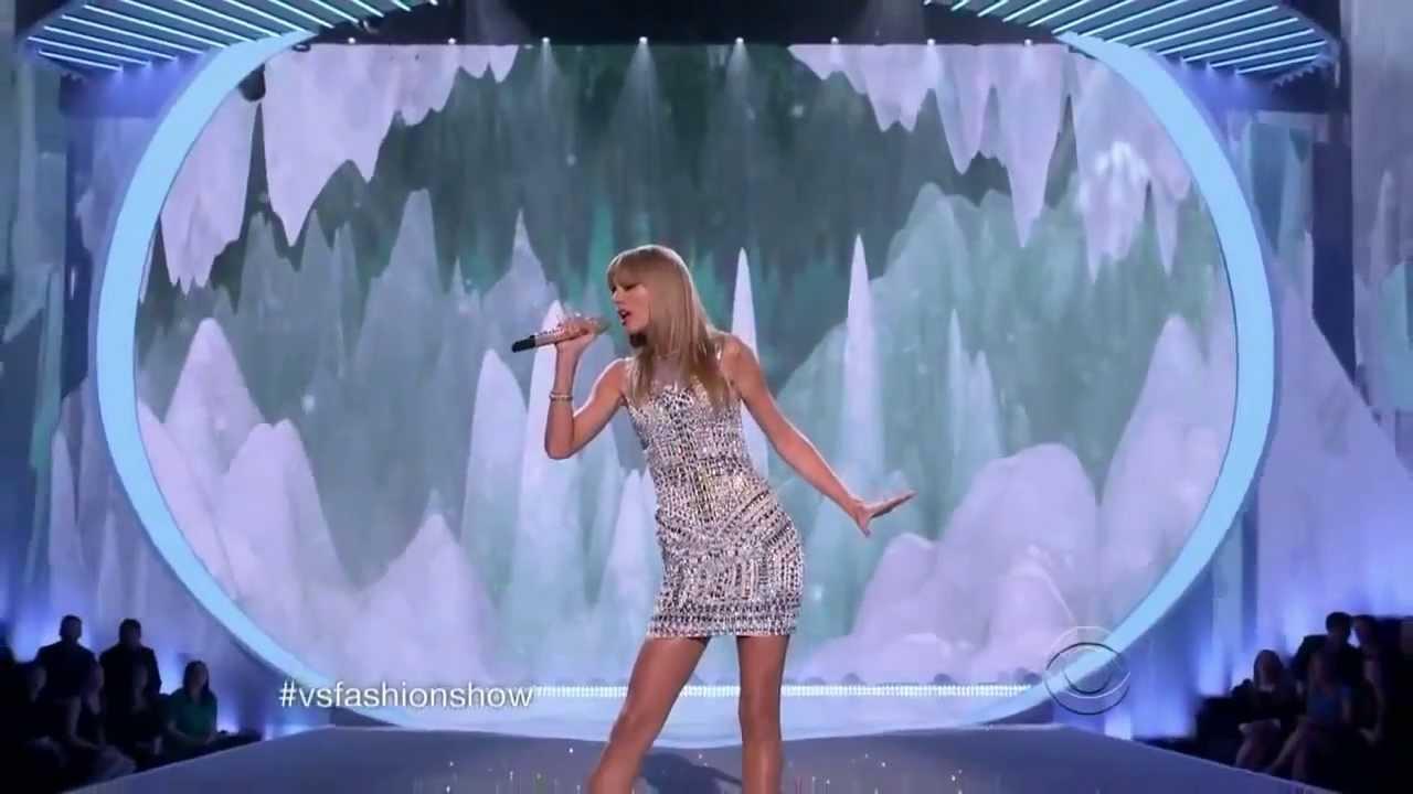 Taylor Swift - I Knew You Were Trouble Live Victoria's Secret 2013/2014