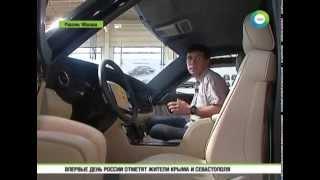 Путину  Президентский лимузин российского производства предоставят через 4 года