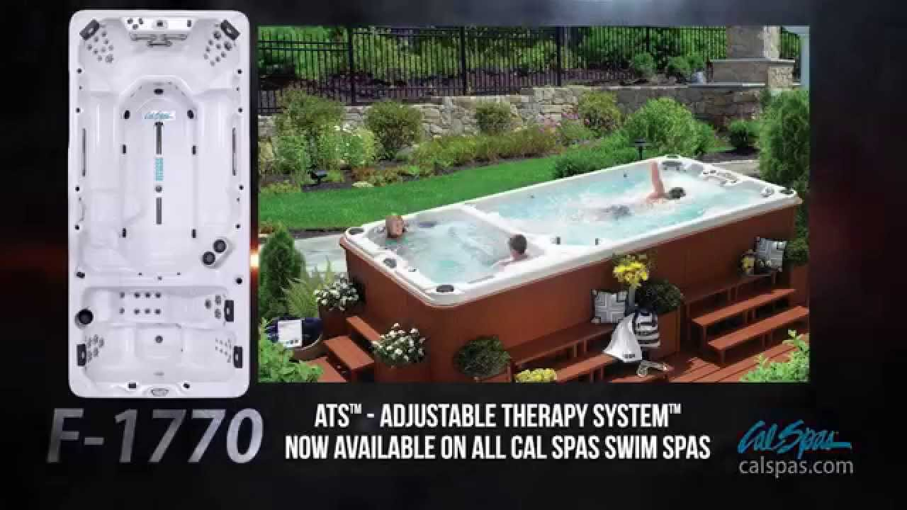 cal spas exclusive adjustable therapy system in swim spas. Black Bedroom Furniture Sets. Home Design Ideas