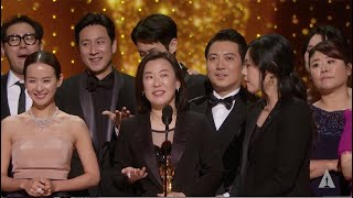 """Parasite"" wins Best Picture"