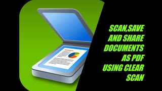 Scanning documents using mobile and saving / sharing  as PDF  using Clear Scan , android application screenshot 2