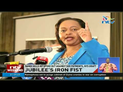 Jubilee's iron fist in dealing with internal critics