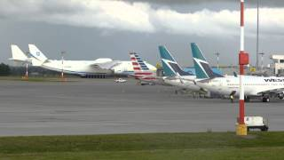 Antonov AN-225 - Edmonton International Airport - June 28, 2014