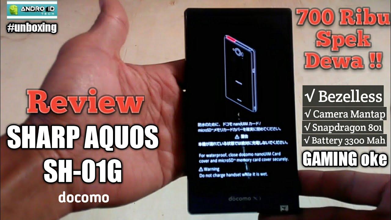 Sharp Docomo SH-01G Aquos Zeta: specifications, photos