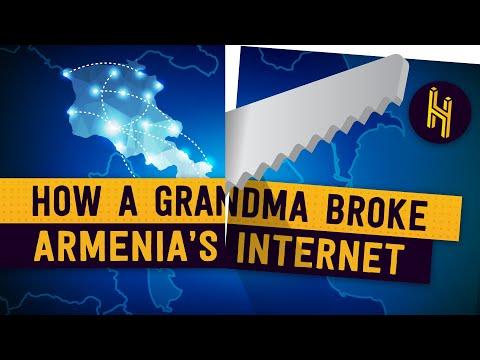 How a Grandma Broke All of Armenia's Internet