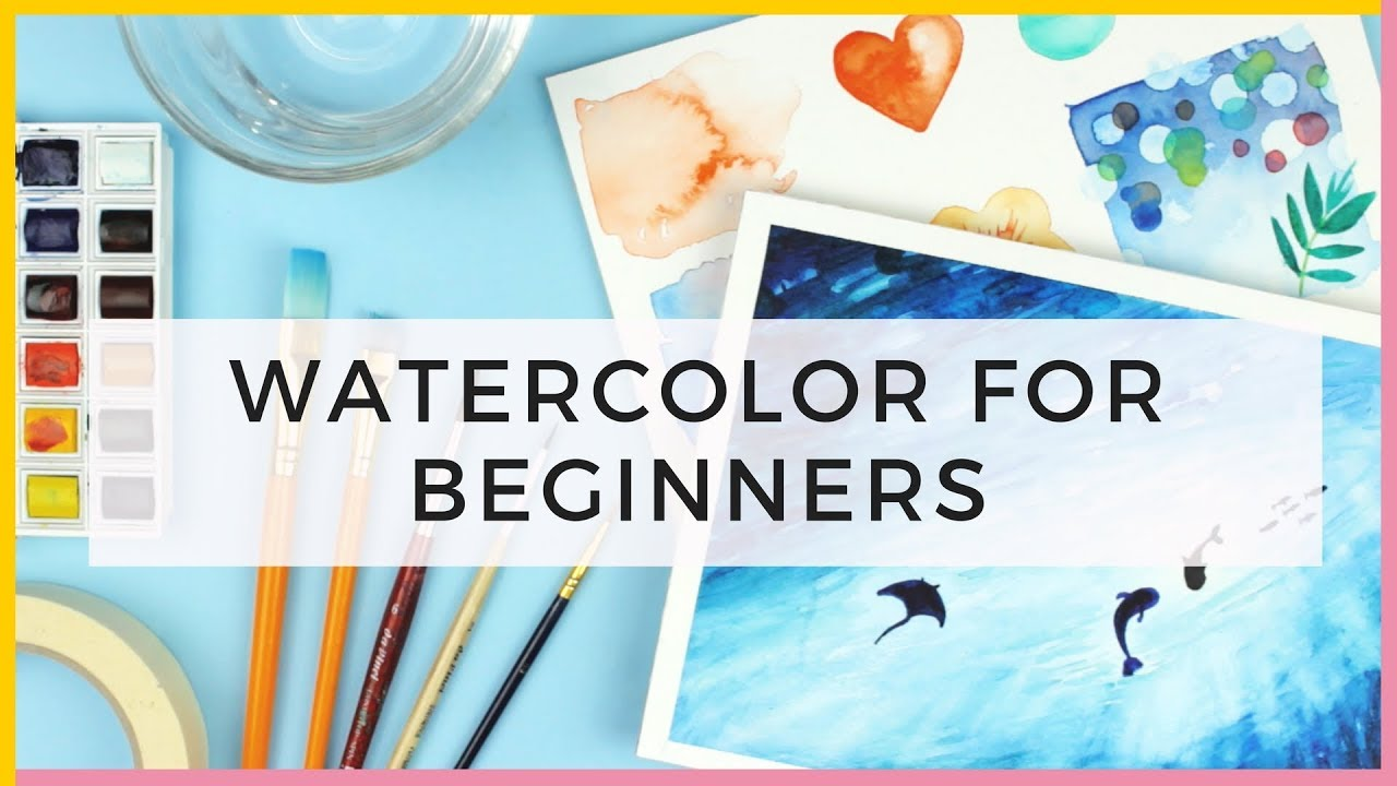 Watercolor for beginners supplies watercolor for How to watercolor for beginners