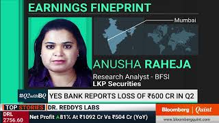 Yes Bank Reports A Loss Of Rs 600 Crore In Q2