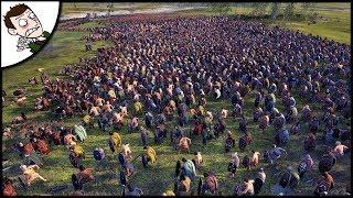 Massive 12000 Iceni v 2500 Roman Empire Rebellion - Ancient Empires Total War (Attila Mod)