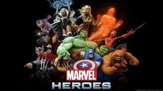Marvel Heroes Gameplay - I AM IRON MAN!! (Marvel Heroes MMO Beta PC Gameplay HD)