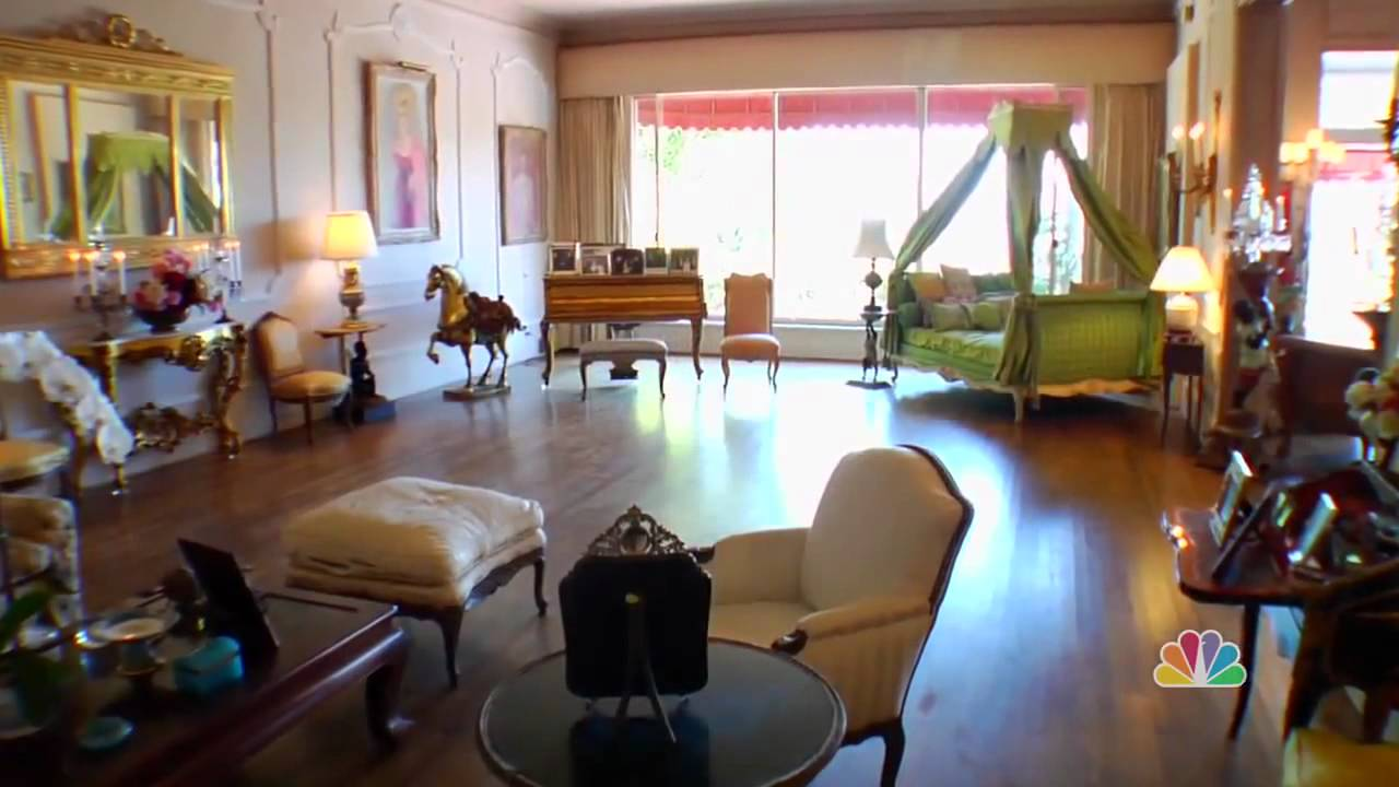 Zsa Zsa Gabor S Bel Air Mansion Youtube
