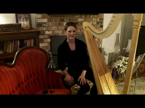 Angels We Have Heard On High - Harp - Christmas 2017