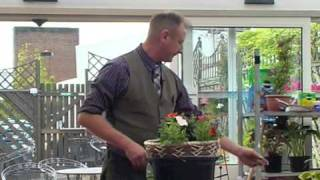 How To Plant A Beautiful Hanging Basket