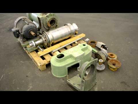 Used-Westfalia CA-225 Solid Bowl Decanter Centrifuge stock# 43329001
