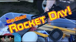 Cub Scout Rocket Day!