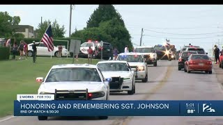 Honoring and remembering Tulsa Police Sgt. Craig Johnson