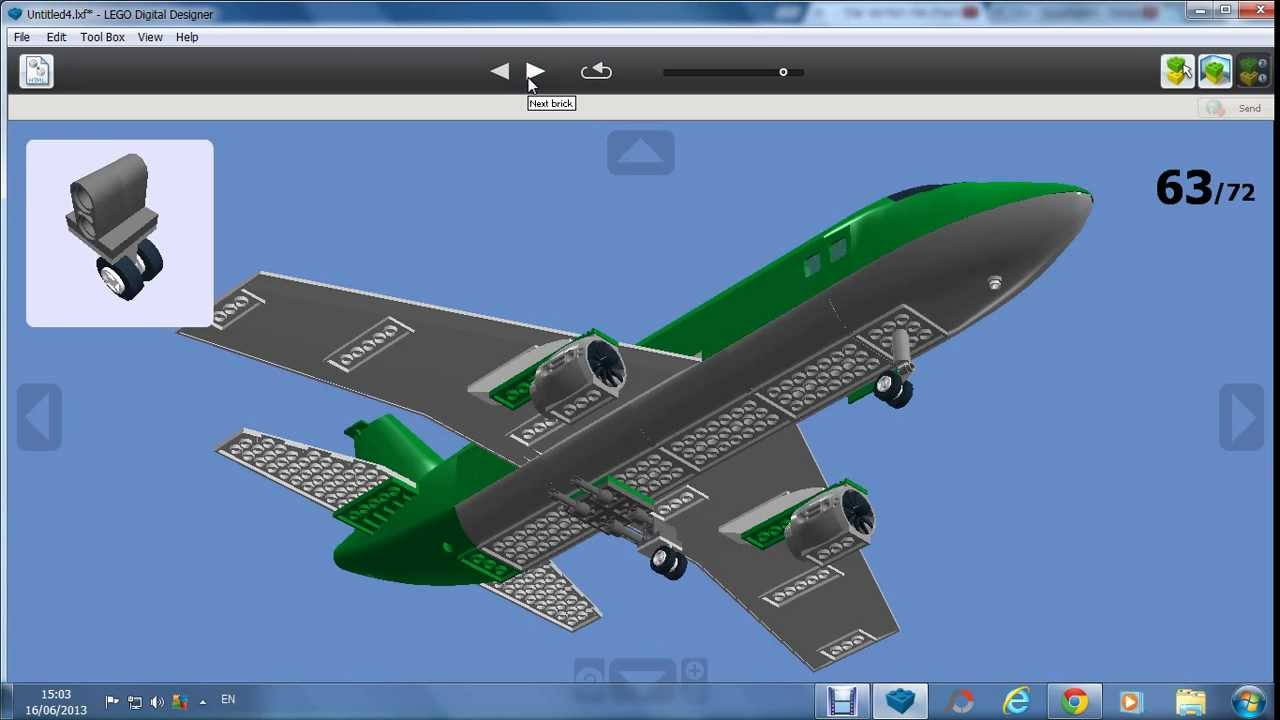 How To Build A Lego Cargo Plane Youtube