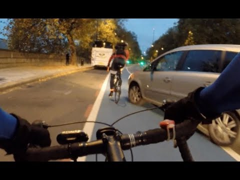 London Cycling, Craziest Near Misses Ever, No Filter