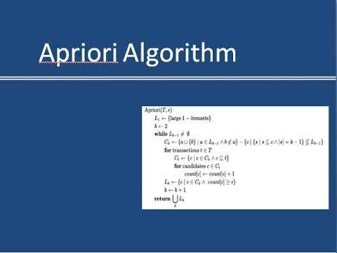 Apriori Algorithm With Complete Solved Example To Find Association Rules