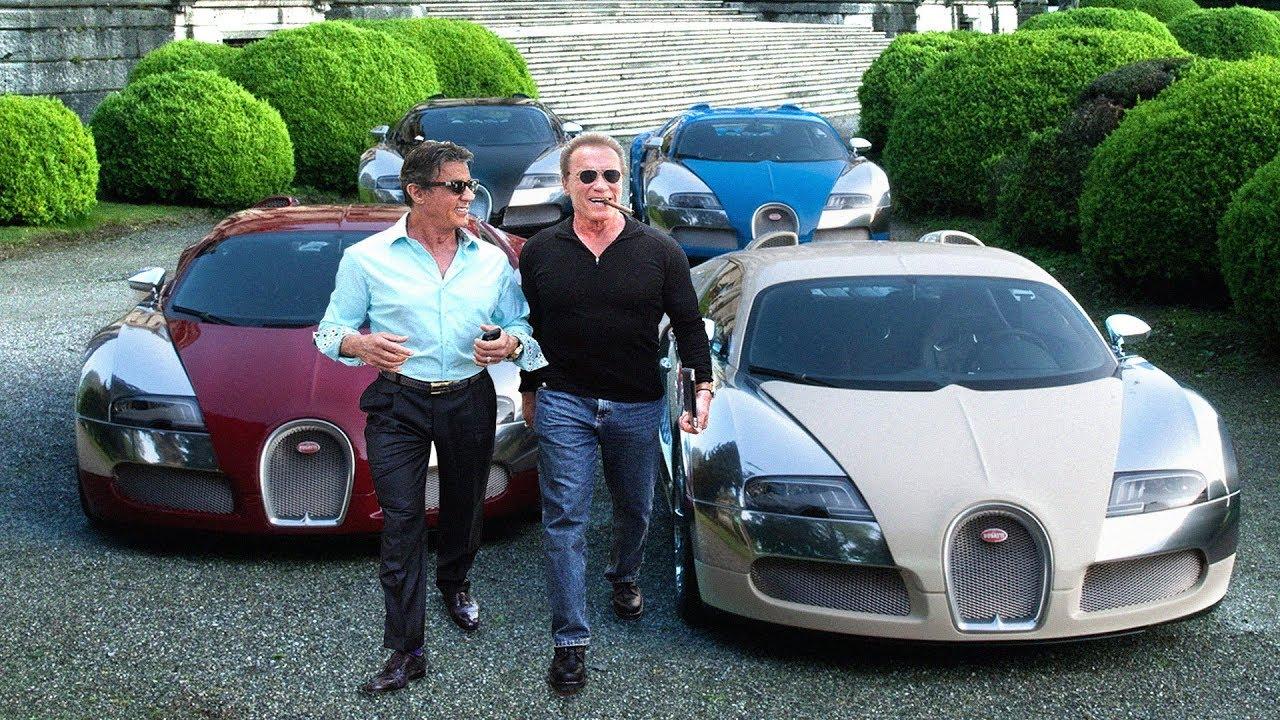 Arnold Schwarzenegger S Cars Vs Sylvester Stallone S Cars 2017