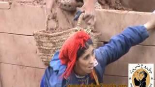 2/4.Construcción de Muro de adobe - Ifoulou, Azilal