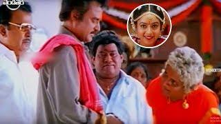 Rajinikanth, Soundarya Telugu Super Hit Movie Part - 9 || Arunachalam