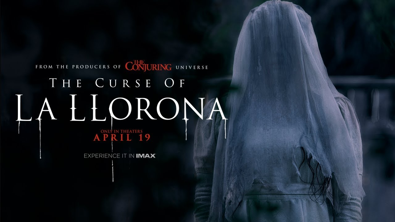 Image result for The Curse of La Llorona poster""