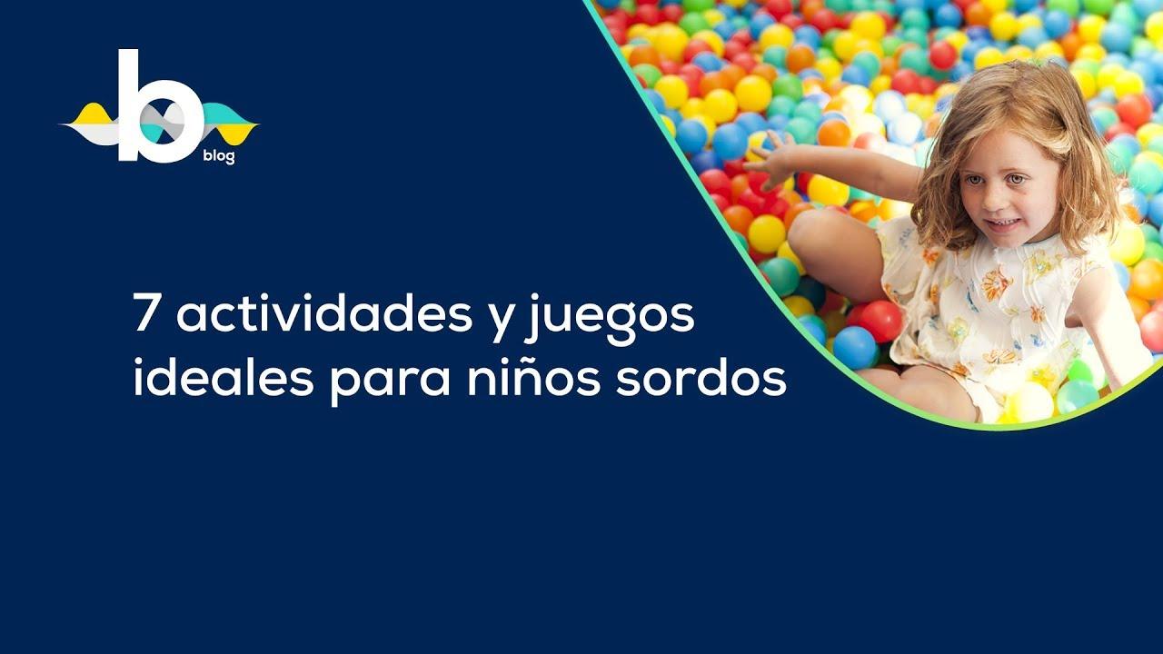 7 actividades y juegos ideales para niños sordos -Visualfy