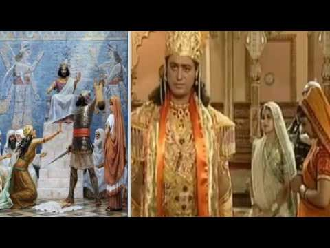 Библейский Соломон это царь Прахлад из Вишну Пуран?! Или кто-то у кого-то своровал идею? Разбор