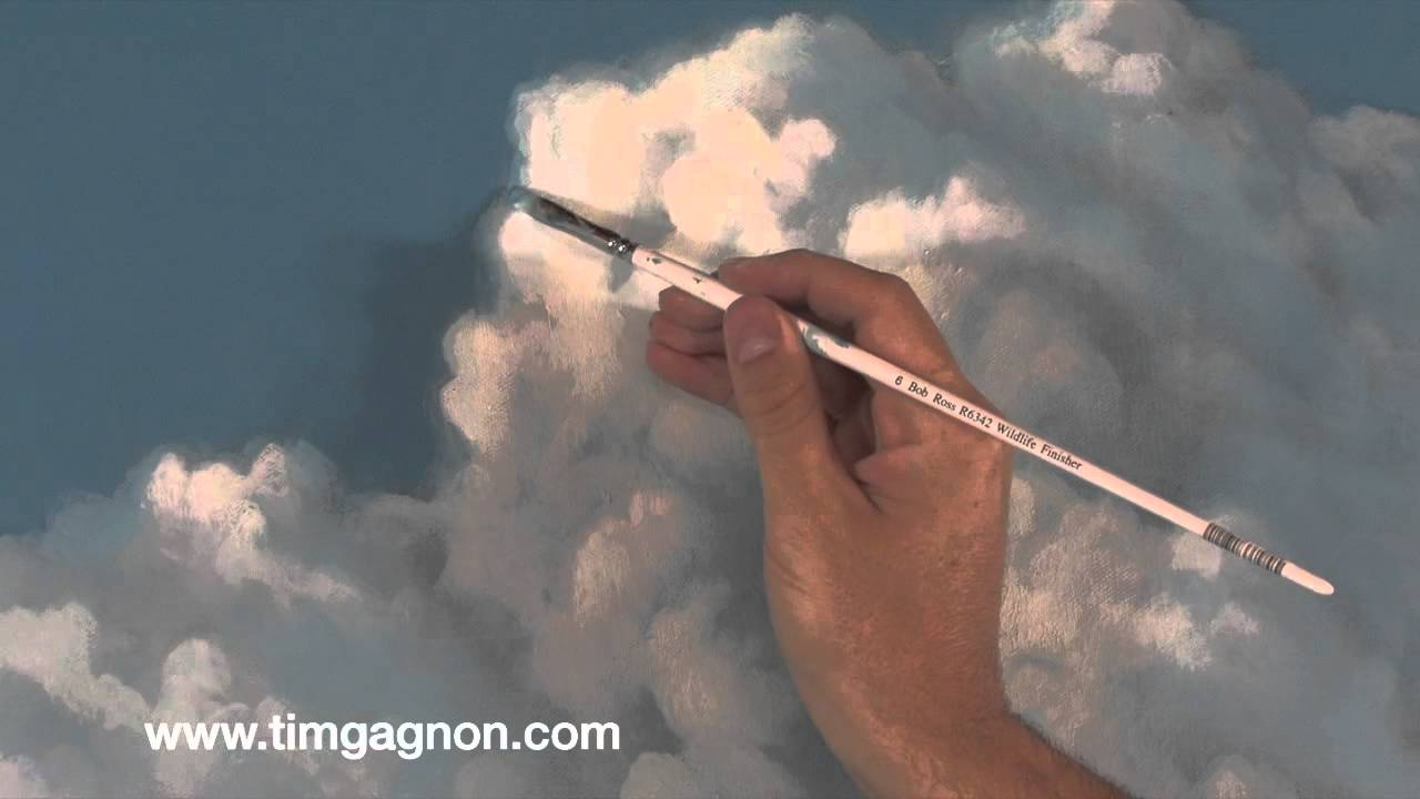 painting clouds in oil or acrylic tips tricks and