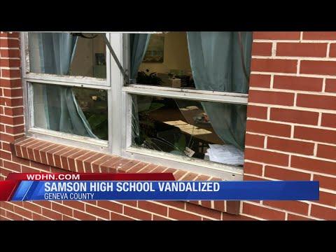 Samson High School vandalism