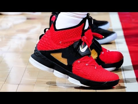 c3a6ee1043 LEBRON 15 ALTERNATE DIAMOND TURF - YouTube