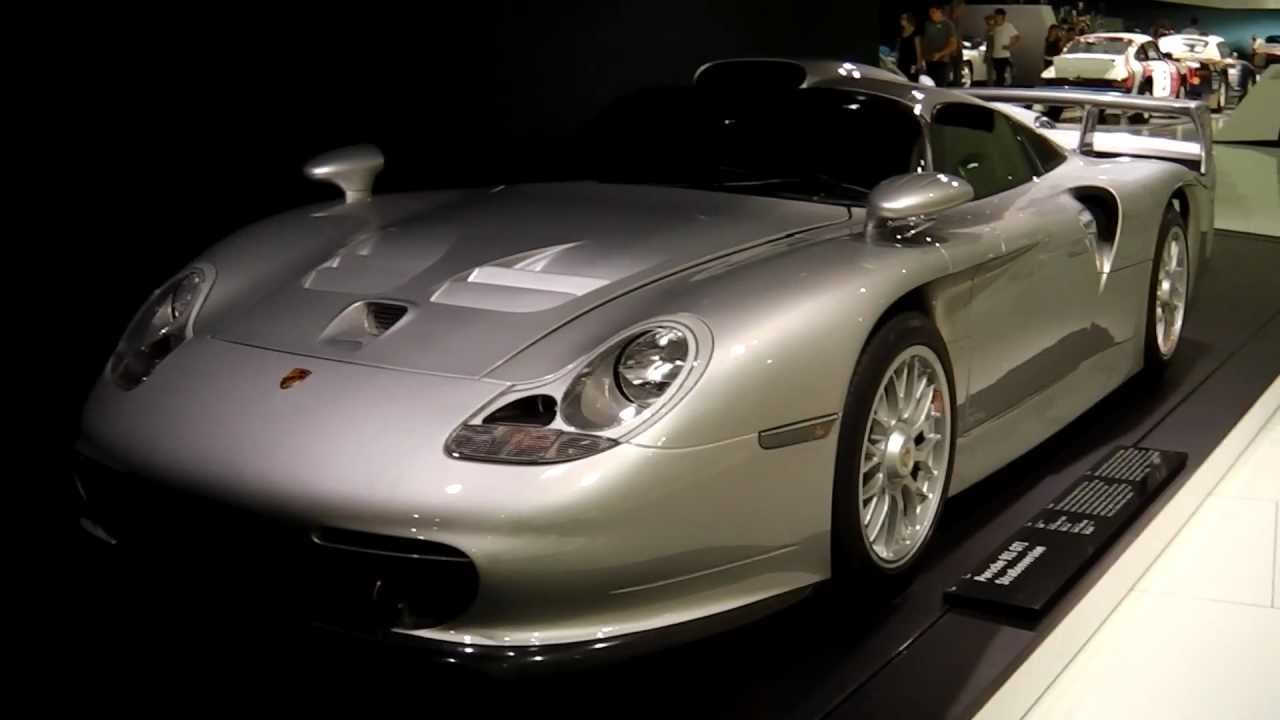porsche 911 gt1 996 street version porsche museum stuttgart youtube. Black Bedroom Furniture Sets. Home Design Ideas