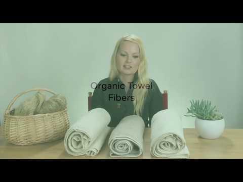 Comparison Between Organic Cotton, Linen, Hemp Towels
