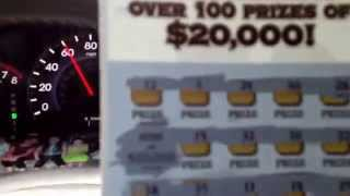 "Top Prize Winner!! Georgia Lottery $20,000 ""Maximum Money Madness"" Scratch Off Ticket!!"