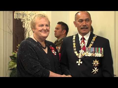 Richie McCaw investiture at Government House