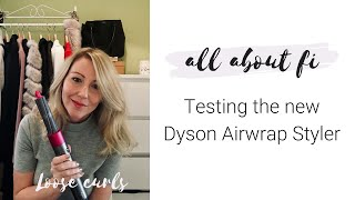 Timelapse: Testing the new Dyson Airwrap Styler curls in x4 fast mo