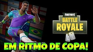 FORTNITE IN WORLD CUP CLIMATE LAUNCHES THEMATIC SKIN!
