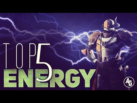 Destiny 2 - Top 5 Best Energy Secondaries