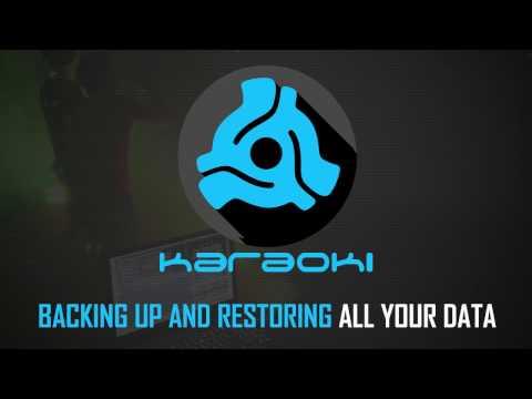 PCDJ Karaoki (karaoke software) - How To Backup And Restore All Your Data