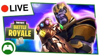 NEW THANOS AVENGERS Infinity Gauntlet MODE! + WEEK 2 CHALLENGES - Fortnite Battle Royale LIVE