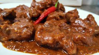 How to cook Pork Caldereta (Batangas Style)
