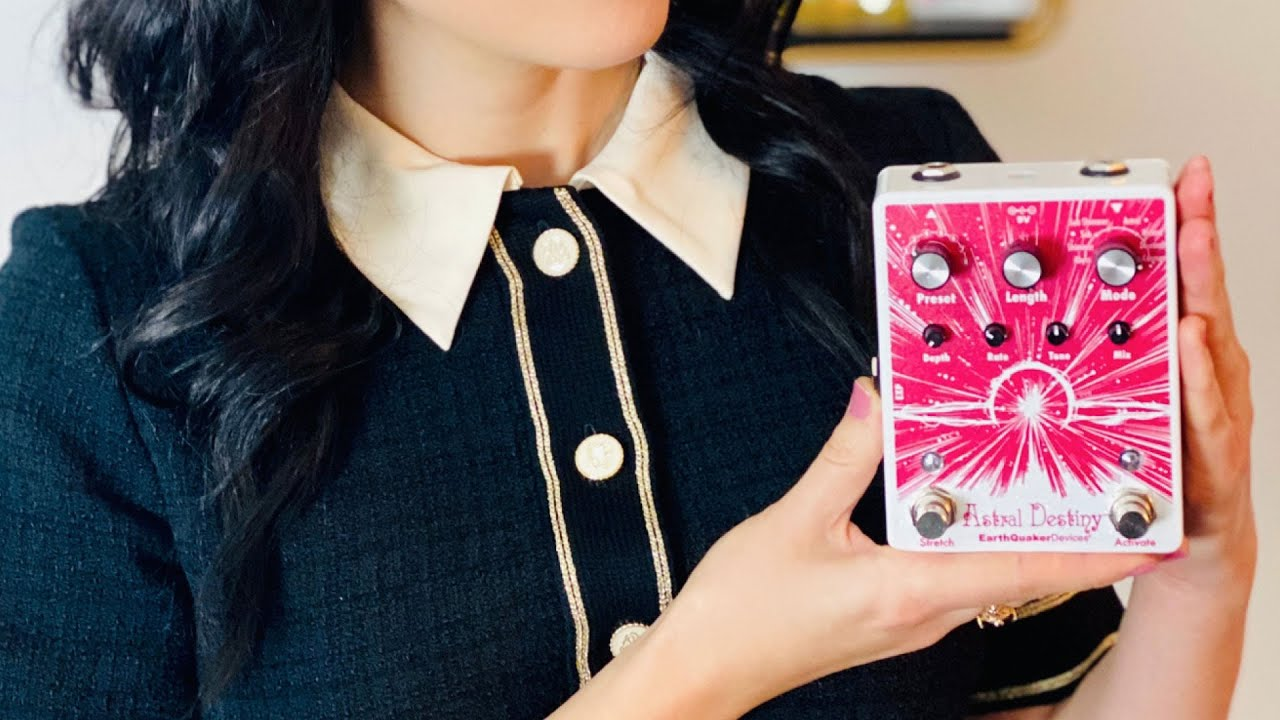 EarthQuaker Devices Astral Destiny Octave Reverb Pedal | Sarah Lipstate First Impressions