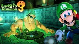 BODYBUILDING GHOSTS!! | Luigi's Mansion 3
