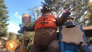 [4k] Grizzly River Run Reopens at DCA: 2019 Complete ridethrough 4k 60fps - Disneyland park