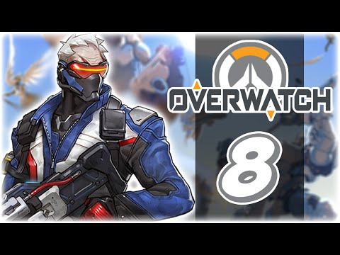 Let's Play: Overwatch | Part 8 | Bastion & Soldier 76 PC Gameplay
