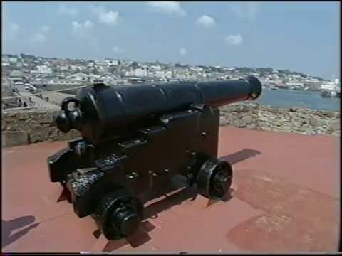 Castle Cornet - Noon Day Gun -  Guernsey - 1992