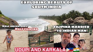 EXPLORING BEAUTY OF SOUTH INDIA / UDUPI AND KARKALA / FILIPINA MARRIED TO INDIAN MAN 🇵🇭❤️🇮🇳