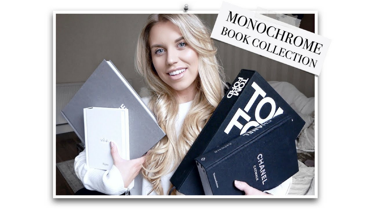 Monochrome Coffee Table Books From 1 Freya Farrington Youtube